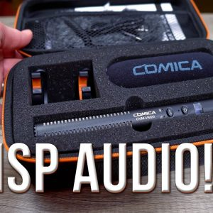 Just Getting Started on YouTube?  Get the Comica CVM-VM20 Shotgun Microphone