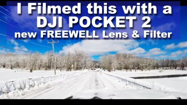 New Product in 2021 - DJI OSMO Pocket 2 ND Filters for ANAMORPHIC & WIDE ANGLE LENS - Review