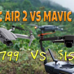 DJI Mavic Air 2 Vs Mavic 2 Pro new details released