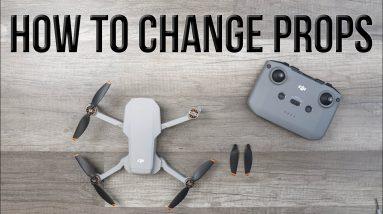 DJI Mini 2 Tutorial - How to Change the Propellers