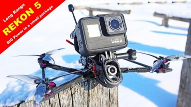The REKON 5 Long Range FPV Drone is my kind of drone!  A joy to fly!  Review