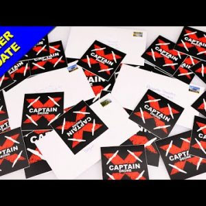 Free Captain Drone Stickers - UPDATE
