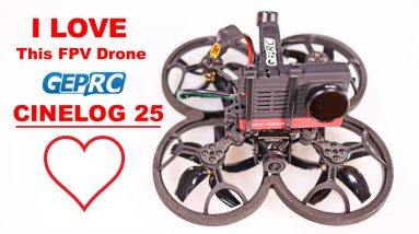 GEPRC CINELOG 25 - I'm Loving this Drone!  Full Review