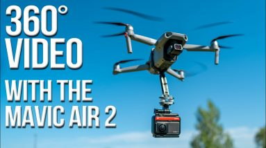 Get 360 Footage with your Mavic Air 2!