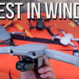 Mavic Air 2 vs. Mavic 2 Pro, Mavic Mini & Mavic Air - Wicked Wind Test