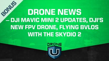 Drone News – DJI Mavic Mini 2 Updates, DJI's New FPV Drone, Flying BVLOS with The Skydio 2