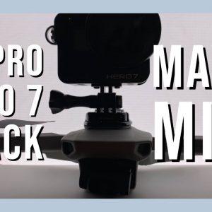 Mavic Mini with a Go Pro Hero 7 Black includes footage