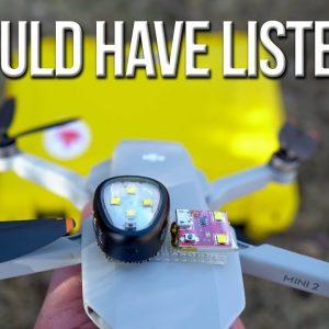 DJI Mini 2 - Nanuk Storage Case | Brightest Strobe Light | Flying at Night Rules