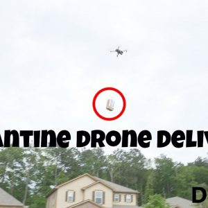 Quarantine Drone Delivery Services