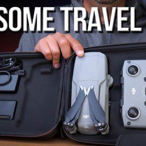 Mavic Air 2 Travel Bag, Landing Extension w/lights and Propeller Holder from PGYTECH!