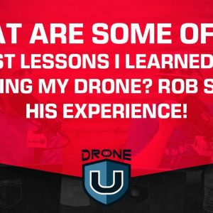 What are Some of the Biggest Lessons I Learned After Crashing My Drone? Rob Shares His Experience!