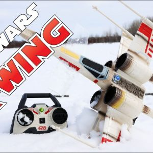 Star Wars X-Wing RC Drone - Flying & crashing my $25 investment
