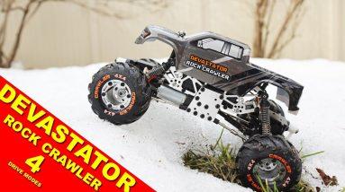The Devastator Rock Crawler is the most popular RC Truck under $100.