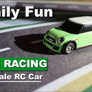 Tiny Turbo Racing 1/76 scale RC Cars - Fun for the Family & Cats - Review