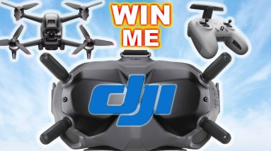 WIN a new DJI FPV Drone Combo Kit - FPV Drone, FPV Googles, FPV Controller and Accessories